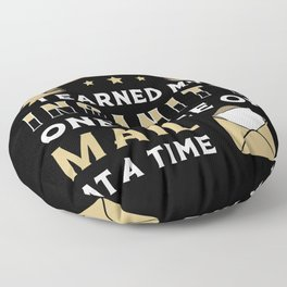 Mailman Day Postman Mail Post Job Delivery Gift Floor Pillow