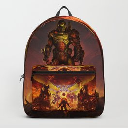 Doom Eternal game Backpack