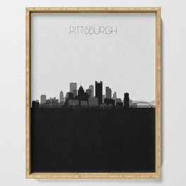 City Skylines: Pittsburgh Serving Tray