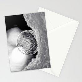 B&W Bubble Fine Art Stationery Cards