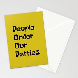P. O. O. P Stationery Cards