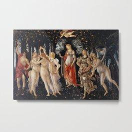 Sandro Botticelli - Spring (La Primavera) Metal Print