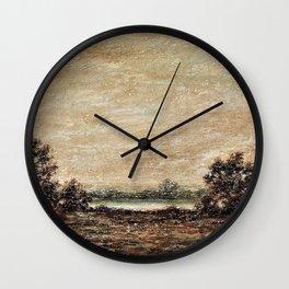 Yellow Light - Ralph Albert Blakelock Wall Clock