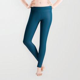 Dunn & Edwards 2019 Curated Colors Blue Velvet (Deep Blue) DET559 Solid Color Leggings