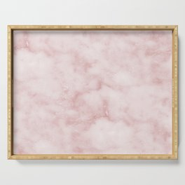 Sivec Rosa - cloudy pastel marble Serving Tray