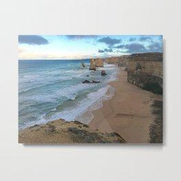 The Twelve Apostles, Great Ocean Road  Metal Print