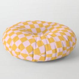 Tangerine Fizz Floor Pillow