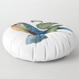 Ginkgo Bird Floor Pillow