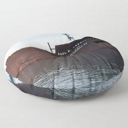 Paul R Tregurtha Floor Pillow