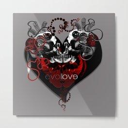 evol love Metal Print