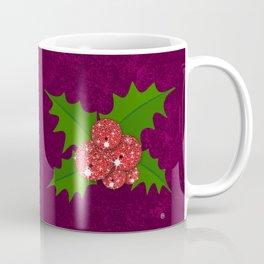 Sparkling Mistletoe Coffee Mug