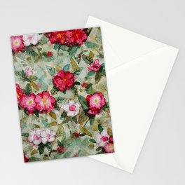 Madagascar Periwinkles Stationery Cards
