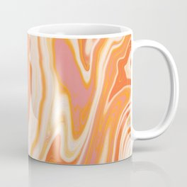 orange marble Coffee Mug