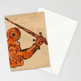 misterio visual 19: guerra contemplativa Stationery Cards