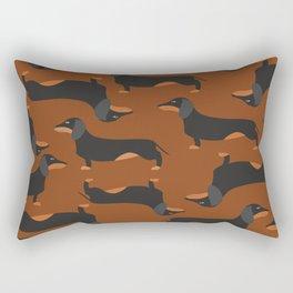 Dachshund, Wiener dog Rectangular Pillow