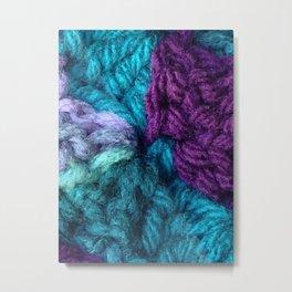 Yarn Bomb_1 Metal Print