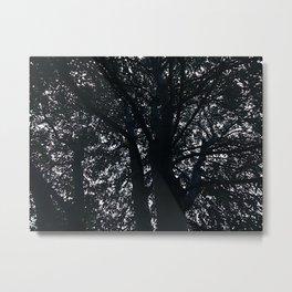 UNDER THE TREE Metal Print