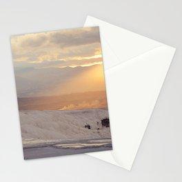 Sunset In Pamukkale Turkey Stationery Cards