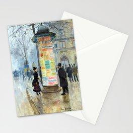 Jean Béraud Parisian Street Scene Stationery Cards