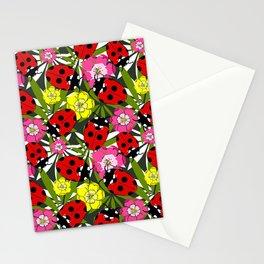 Cartoon Ladybird Pattern Stationery Cards