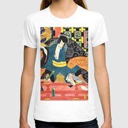 Utagawa Kunisada - ISHIKAWA GOEMON T-shirt