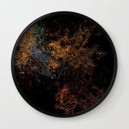 Melting Shimmers Wall Clock