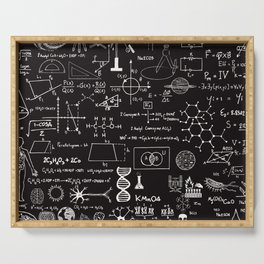 Science Madness Serving Tray