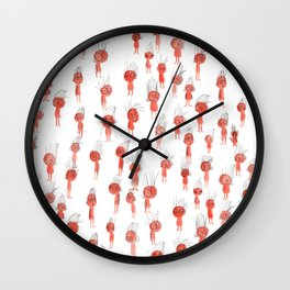 Oompa Loompa Pattern Wall Clock