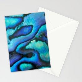 Blue Paua Abalone Shell Stationery Cards