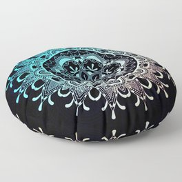 Mandala Night Floor Pillow