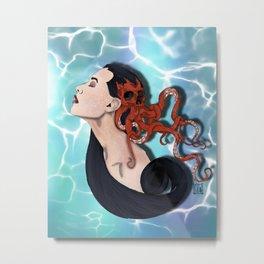 The siren Metal Print