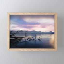 Lake View Framed Mini Art Print