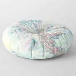 Anais Nin Mermaid [vintage inspired] Art Print Floor Pillow