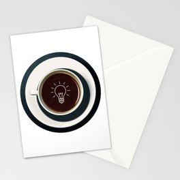 Coffee lights up my idea - I love Coffee Stationery Cards