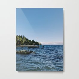 Meeks Bay Vista Metal Print