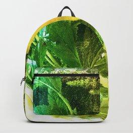 When life gives you lemons you make mint tea  Backpack