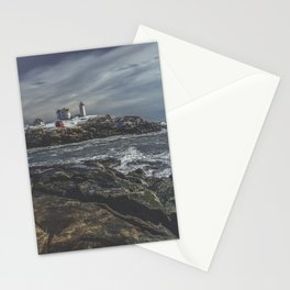 Nubble Light York Maine Stationery Cards