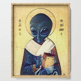 St. Alien Serving Tray