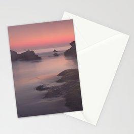 Foggy sunset. Roche Reefs. Sancti Petri. Spain Stationery Cards