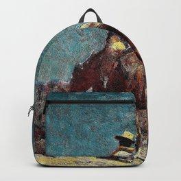 The Night Guard - William Herbert Dunton Backpack