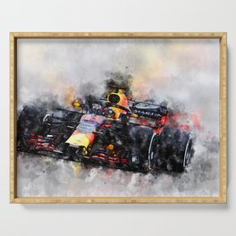 Max Verstappen Racing Serving Tray