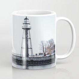 Lake Superior Lighthouse-Minnesota Landscape Photography Coffee Mug