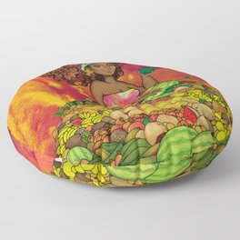 FrutiChomba Floor Pillow