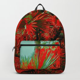 Singapore Bot. Garden 2 - RED Backpack