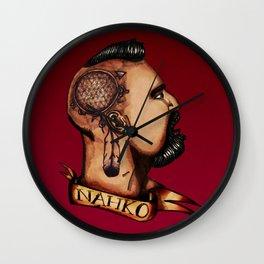 Nahko Bear Fan Made Art Wall Clock