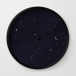 Starry Sky Wall Clock
