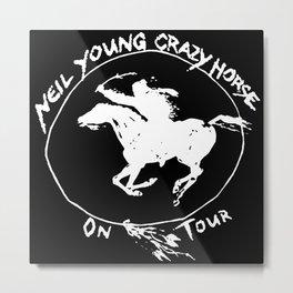 neil young crazy horse tour 2020 2021 ngamein Metal Print