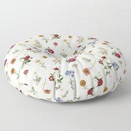 Vertical Garden (White) Floor Pillow