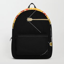Arrow Pizza Backpack