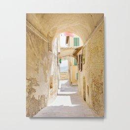 Passaggio - Pienza Tuscany, Italy Metal Print